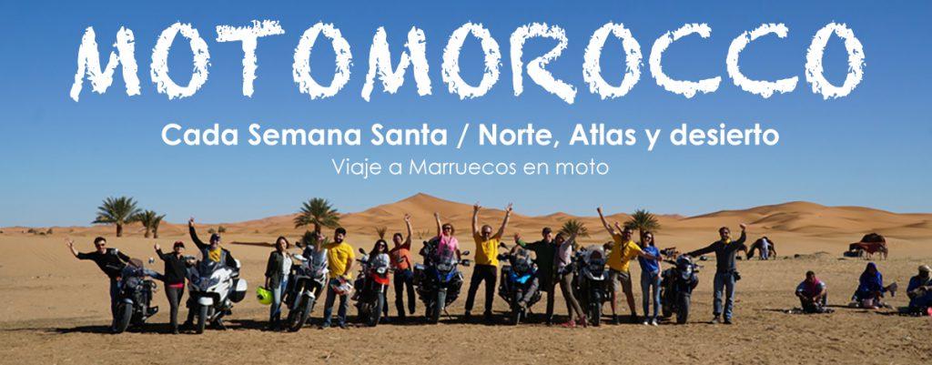 Viaje organizado a Marruecos en Moto - Semana Santa