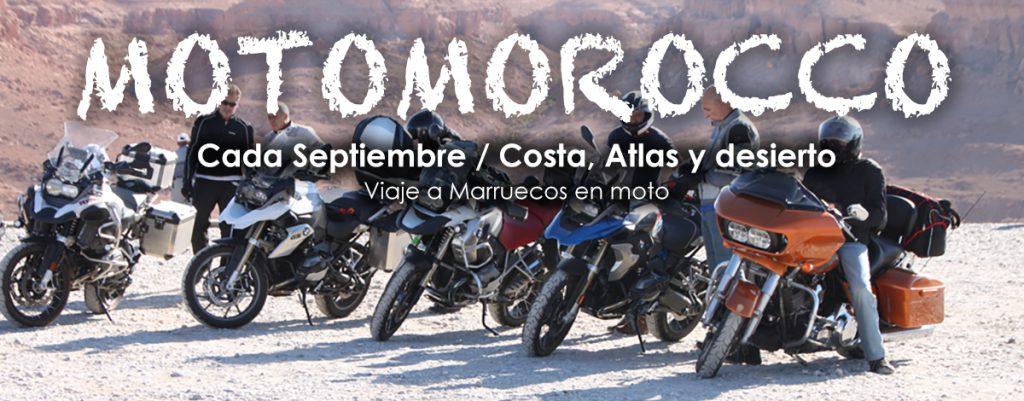 Viaje organizado a Marruecos en Moto - Septiembre