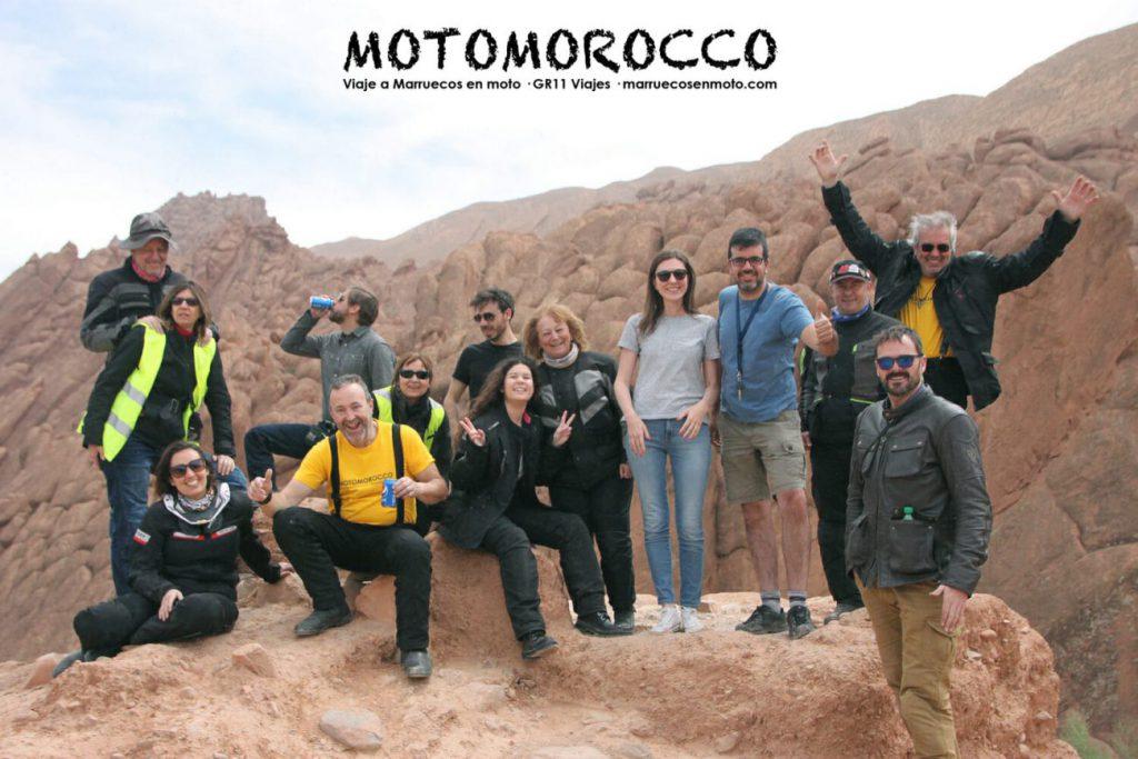 Ruta En Moto Por Marruecos Motomorocco 2018 Desierto Atlas 34